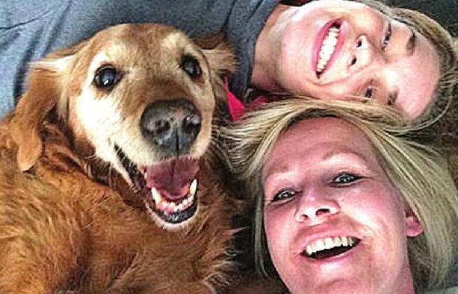 Enter your best pet selfie for a chance to win a prize from West Okie Boutique. COURTESY PHOTO