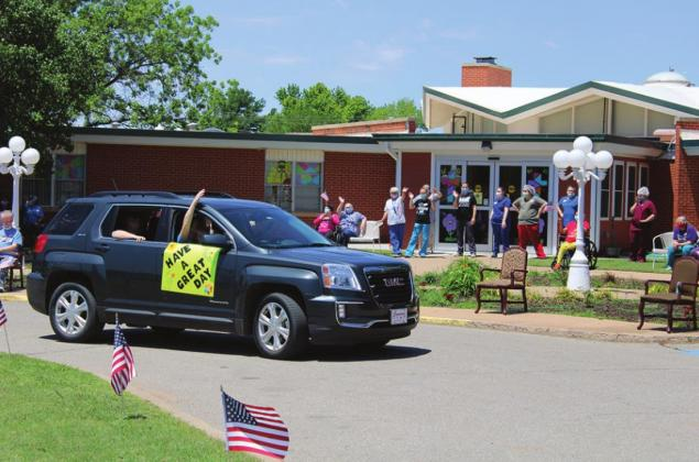 Retirement Homes Treated To Community Parade